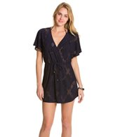 J.Valdi X-Rated Surplice Cover Up Dress