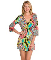 J.Valdi ITY Prints 3/4 Sleeve Tunic