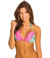 Beach Bunny Astropop Lady Lace Triangle Bikini Top