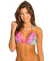 Beach Bunny Astropop Lady Lace Triangle Bikini Top