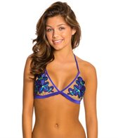 Beach Bunny Tigerlily Triangle Bikini Top