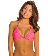 Beach Bunny Hard Summer Triangle Bikini Top