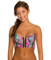 Beach Bunny Strawberry Fields Blaconette Top