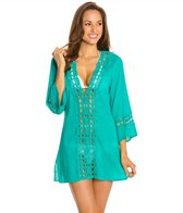 La Blanca Solid Intuition Cover-Up Tunic