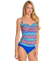 La Blanca Waves of Change OTS Sweetheart Tankini Top