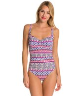 La Blanca Bohemian Romance OTS Sweetheart Mio One Piece Swimsuit