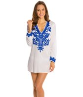 La Blanca Bali Gardens V-Neck Cover-Up Tunic