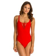 La Blanca Pretty Revealing OTS Lingerie Mio One Piece Swimsuit