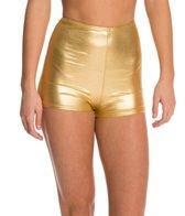 American Apparel Metallic High Waist Yoga Short