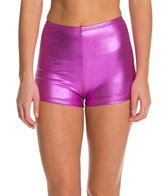 American Apparel Metallic High Waist Yoga Short