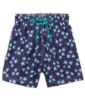 98 Coast Av. Crazy Blue Star Swim Trunks