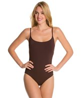 Anne Cole Color Blast Solid Lingerie OTS One Piece