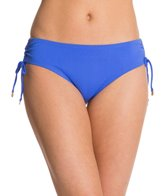 Anne Cole Color Blast Solid Adjustable Side Twist Hipster Bikini Bottom