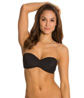 Skye So Soft Solids Lucy Bandeau Tie Back Bikini Top