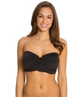 Skye So Soft Solids Becky Underwire Bandeau Bikini Top (D/DD/E)