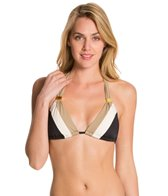 Skye Swimwear Poolside Med Slider Halter Bikini Top