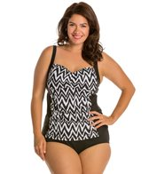 Athena Plus Size Sierra Molded Cup Tankini Top
