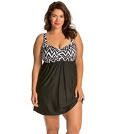 Athena Plus Size Sierra Underwire Swim Dress