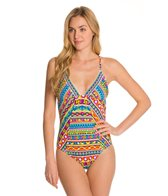 Trina Turk Peruvian Stripe One Piece Swimsuit