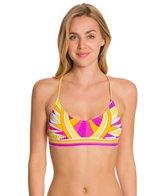 Trina Turk Fiji Feathers Bralette Bikini Top
