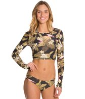 Billabong Coco Palm L/S Crop Rashguard