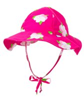 iPlay Girls' Pansy Mod Bucket Sun Protection Hat (0mos-4yrs)
