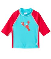 iPlay Boys' Lobster Mod Three-Quarter Sleeve Rashguard (3mo-4yrs)