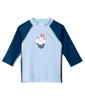 iPlay Boys' Pirate Mod Three-Quarter Sleeve Rashguard (3mo-4yrs)