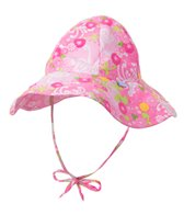 iPlay Girls' Garden Mix 'N Match Rerversible Brim Sun Protection Hat (0mos-4yrs)