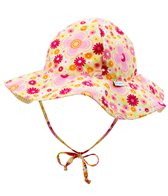 iPlay Girls' Mix 'N Match Rerversible Brim Sun Protection Hat (0mos-4yrs)