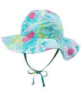 iPlay Girls' Luau Classics Brim Sun Protection Hat (0mos-4yrs)