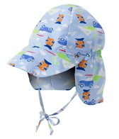 iPlay Boys' Cars Classics Flap Sun Protection Hat (0mos-4yrs)