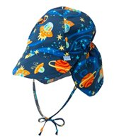 iPlay Boys' Outer Space Classics Flap Sun Protection Hat (0mos-4yrs)