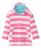iPlay Girls' Organic Terry Hoodie Cover (6mos-4yrs)