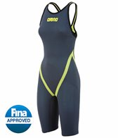Arena Powerskin Carbon Flex World Championship Edition '15 Full Back Short Leg Open Back Tech Suit Swimsuit