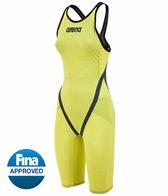 Arena Powerskin Carbon Flex World Championship Edition '15 Full Back Short Leg Open Back Tech Suit Swimsuit