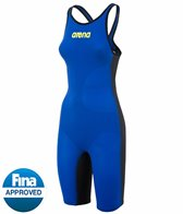 Arena Powerskin Carbon Air Full Body Short Leg Open Back Tech Suit Swimsuit