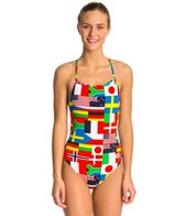 Arena Women's Flags One Piece Swimsuit
