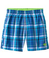 Arena Yarn Dyed Check Plaid Swim Trunk