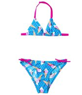Arena Girls' Ice Cream Triangle Bikini Swimsuit Set