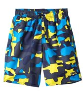 Arena Kids' Camouflage Long Bermuda Swim Trunk