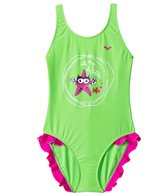 Arena Water Tribe Girls One Piece Swimsuit