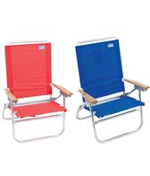 Rio Brands The Easy In-Easy Out Beach Chair
