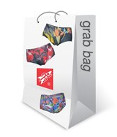 Rocket Science Sports Printed Square Leg Swimsuit Grab Bag