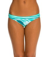 Rip Curl Swimwear Heather Brown Surf Trip Hipster Bikini Bottom
