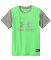 Under Armour Boys' Slasher S/S Surf Tee (8yrs-20yrs)