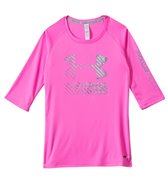 Under Armour Girls' UPF 3/4 Sleeve (6yrs-20yrs)