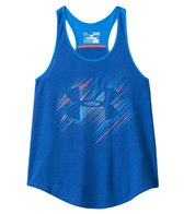 Under Armour Girls' Branded Racerback Tank (6yrs-20yrs)