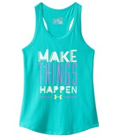 Under Armour Girls' Make Things Happen Tank (6yrs-20yrs)