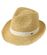 Carve Designs Straw Fedora